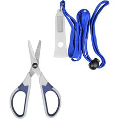 Braid Scissors with Lanyard, , bcf_hi-res