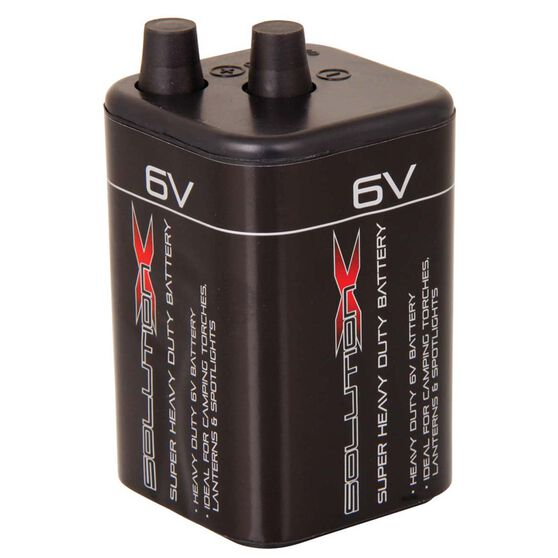 Solution X Heavy Duty Battery 6V, , bcf_hi-res
