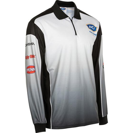 BCF Men's Corporate Sublimated Polo, Black, bcf_hi-res