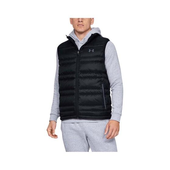 Under Armour Men's Armour Down Vest Black / Pitch Grey 3XL, Black / Pitch Grey, bcf_hi-res