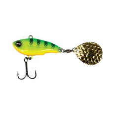 Savage Gear Fat Spin Tail Lure 9g White Silver, White Silver, bcf_hi-res