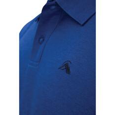macpac Men's Eyre V2 Short Sleeved Polo, Limoges, bcf_hi-res