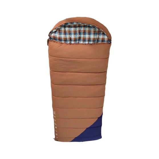Wanderer Grand Yarra Cotton Hooded -9.6C Sleeping Bag, , bcf_hi-res