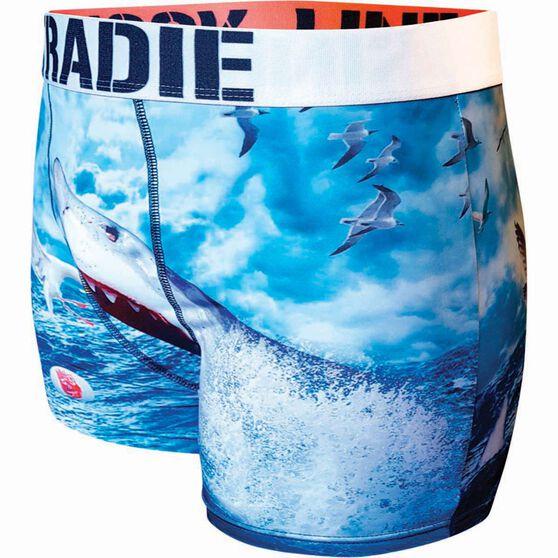 Tradie Men's Great White Underwear Print S Men's, Print, bcf_hi-res
