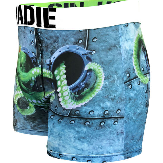 Tradie Men's Octopus Trunks, Octopus, bcf_hi-res
