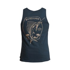 Quiksilver Waterman Men's Classic Sword Tank Midnight Navy S, Midnight Navy, bcf_hi-res