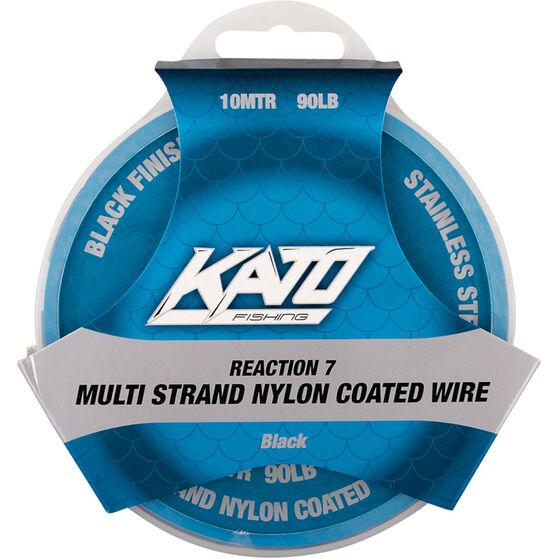 Kato 7 Strand Nylon Coated Wire, Black, bcf_hi-res
