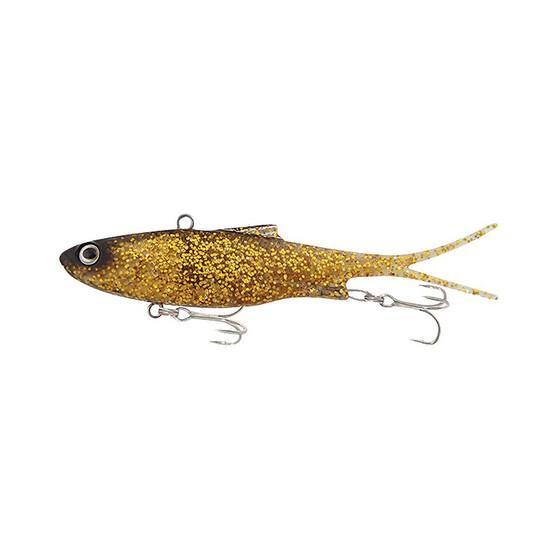 Samaki Vibelicious Vibe Lure 12.5cm 30g Gold Glitter, Gold Glitter, bcf_hi-res