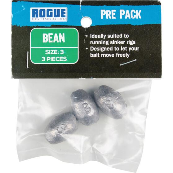 Rogue PP Bean Sinker Size 3 3 Pack, , bcf_hi-res