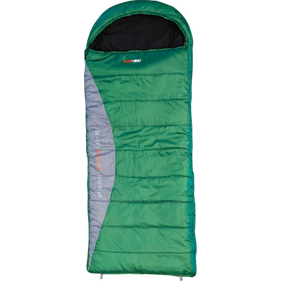 Blackwolf 3D 500 Sleeping Bag Green, Green, bcf_hi-res