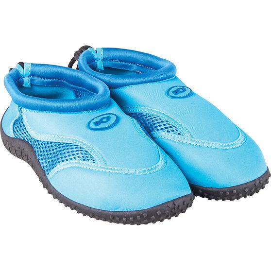 BCF Kids Aqua Shoes Blue AU 3, Blue, bcf_hi-res
