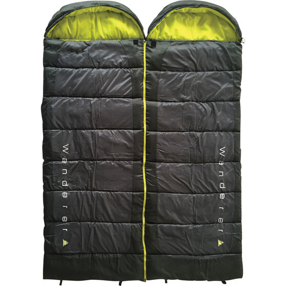 Scorch Duo Hooded Sleeping Bag, , bcf_hi-res