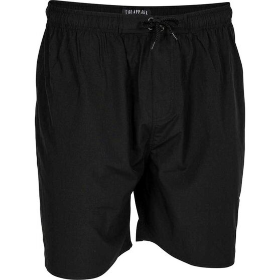 Tide Apparel Men's Anchor Boardshorts, Black, bcf_hi-res