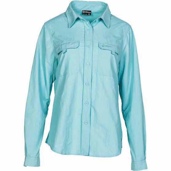 Outdoor Expedition Women's Vented Long Sleeve Shirt, , bcf_hi-res