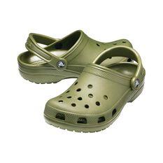 Crocs Classic Unisex Clog Army Green M4/W6, Army Green, bcf_hi-res