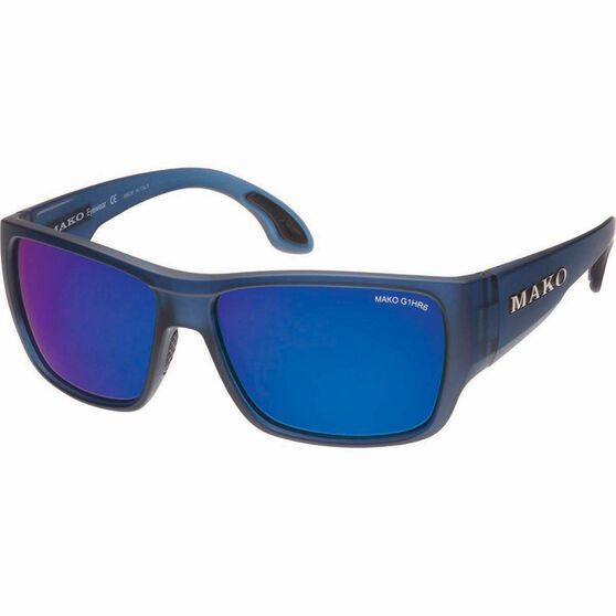 MAKO Covert Polarised Sunglasses Blue Lens, Blue Lens, bcf_hi-res