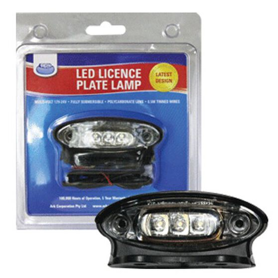 ARK Submersible LED Number Plate Light, , bcf_hi-res
