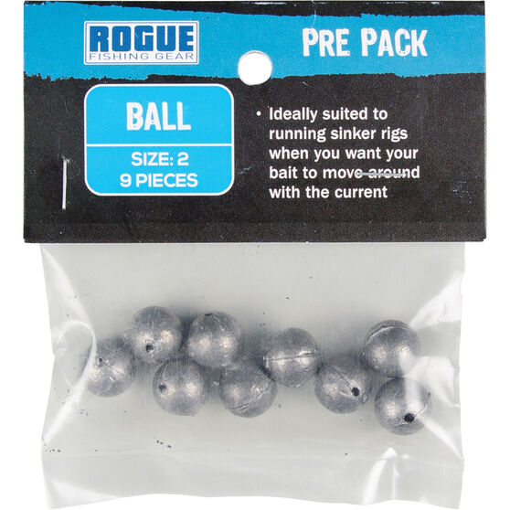 Rogue PP Ball Sinker Size 2 9 Pack, , bcf_hi-res
