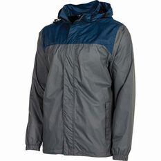 Outdoor Expedition Men's Storm Shell II Jacket Grey / Navy S, Grey / Navy, bcf_hi-res