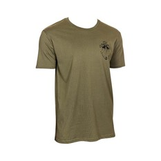 The Mad Hueys Men's The Animal Short Sleeve Tee Army Green S, Army Green, bcf_hi-res