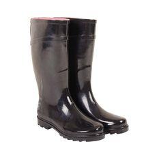BCF Women's Gumboots Black 6, Black, bcf_hi-res