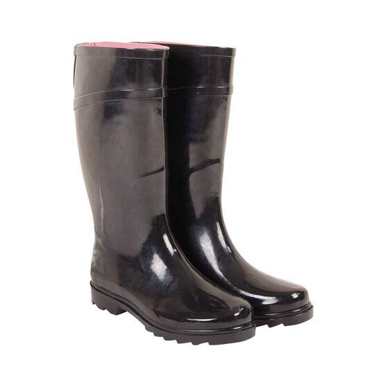 BCF Women's Gumboots, Black, bcf_hi-res