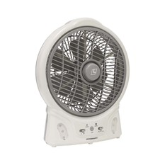 Companion 8in Rechargable Fan With LED Light, , bcf_hi-res