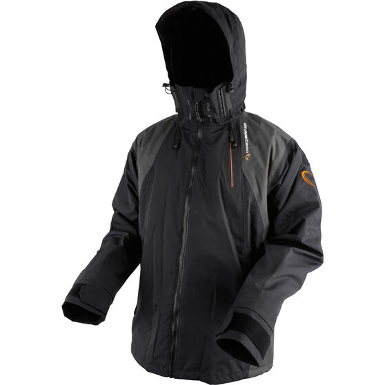 Savage Men's Black Jacket Black XL, Black, bcf_hi-res
