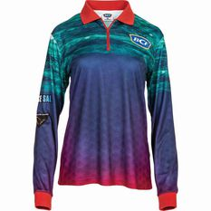 BCF Women's Parrot Sublimated Polo Pink 8, Pink, bcf_hi-res