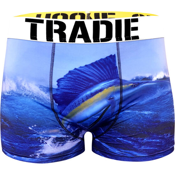 Tradie Men's Sail Fish Trunks Sail Fish L, Sail Fish, bcf_hi-res