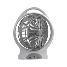 Wanderer Oscillating Rechargeable Fan 12in, , bcf_hi-res