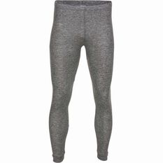 OUTRAK Men's Polypro Long John Grey Marle S, Grey Marle, bcf_hi-res