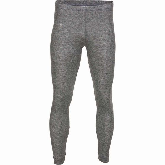 OUTRAK Men's Polypro Long John, Grey Marle, bcf_hi-res