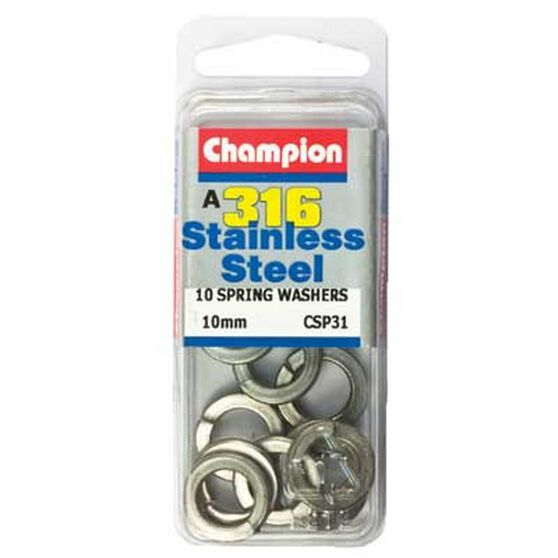 Champion Spring Washers - 4mm, , bcf_hi-res