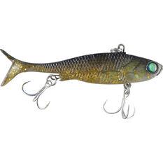 Fish Candy Paddle Vibe Lure 120mm Goldrush, Goldrush, bcf_hi-res
