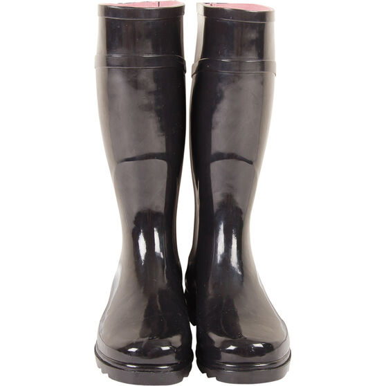 Explore 360 Women's Gumboots, Black, bcf_hi-res