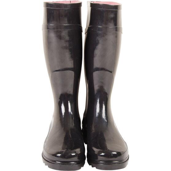 Explore 360 Women's Gumboots Black 10, Black, bcf_hi-res
