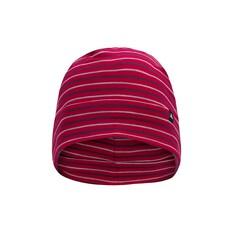 Macpac Unisex Merino 150 Beanie Persian Red Stripe S, Persian Red Stripe, bcf_hi-res