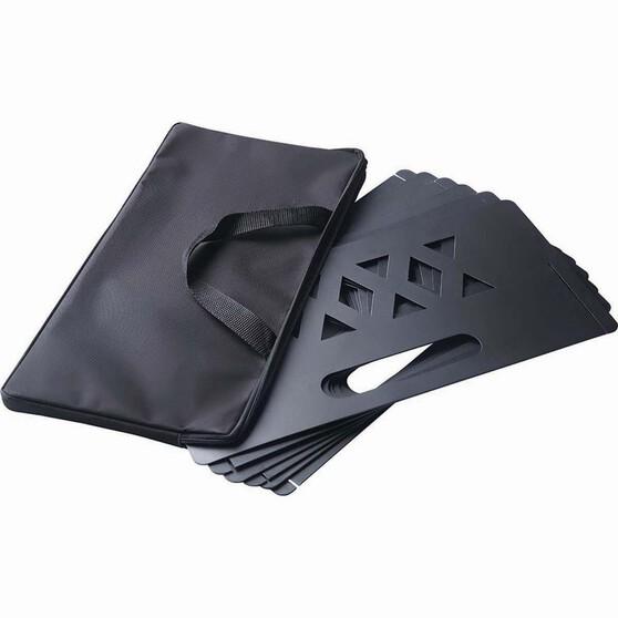 Portable Fire Shield 6 Panels, , bcf_hi-res