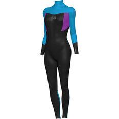 Mirage Kids' Superstretch Steamer Wetsuit Blue 6, Blue, bcf_hi-res