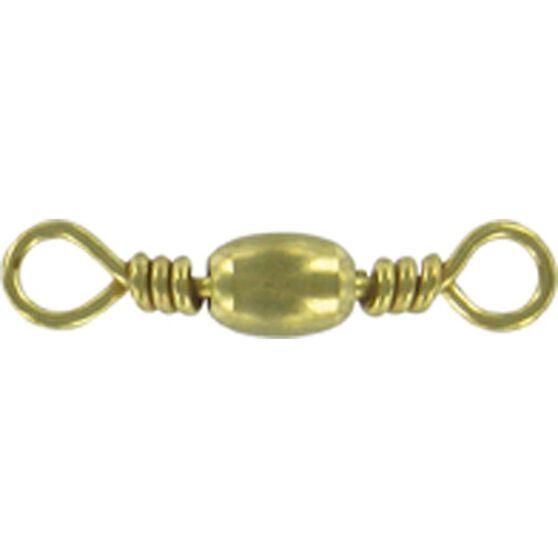 Shogun Brass Barrel Swivel 12 Pack, , bcf_hi-res