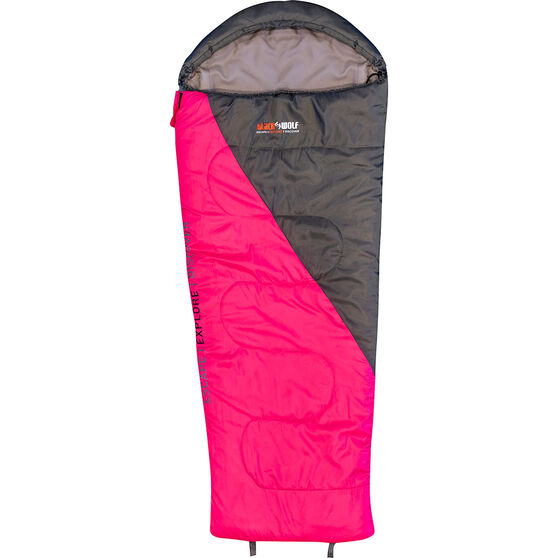 Blackwolf Star 500 Sleeping Bag Pink, Pink, bcf_hi-res