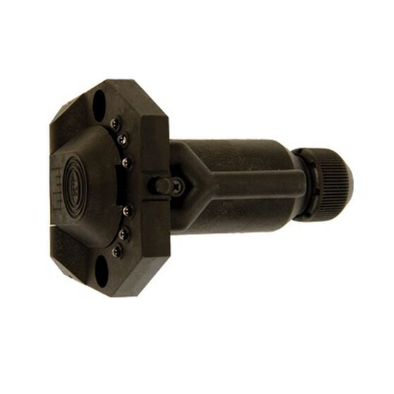 Trailer Socket - 7 Pin Small Round, LED, , bcf_hi-res