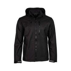 Daiwa Trekker  Softshell Jacket - Mens, Black, S Black S, Black, bcf_hi-res