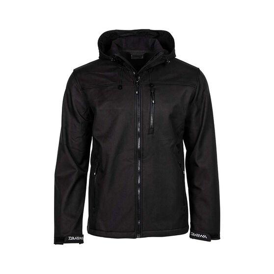 Daiwa Trekker  Softshell Jacket - Mens, Black, S, , bcf_hi-res