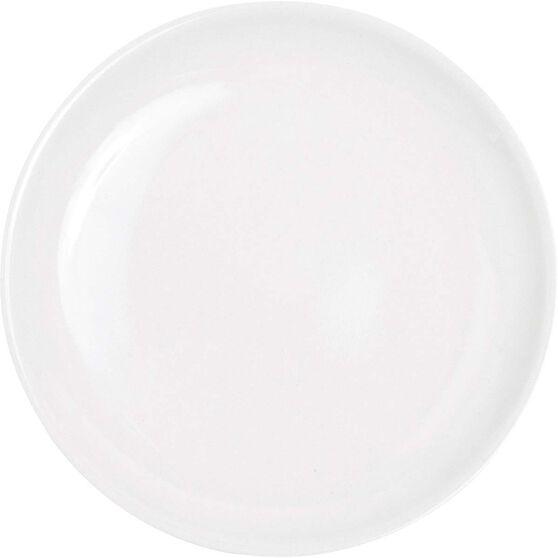 Campfire Melamine Side Plate White, White, bcf_hi-res