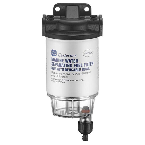 Eastener Mercury Fuel Filter with Clear Bowl, , bcf_hi-res