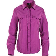 Women's Vented Long Sleeve Fishing Shirt Holly 10, Holly, bcf_hi-res
