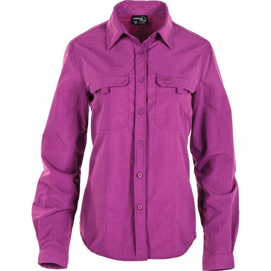 Explore 360 Women's Vented Long Sleeve Fishing Shirt Holly 18, Holly, bcf_hi-res