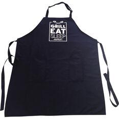Grill Eat Sleep Repeat BBQ Apron, , bcf_hi-res